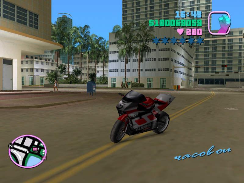 Yamaha в gta vice city deluxe фото